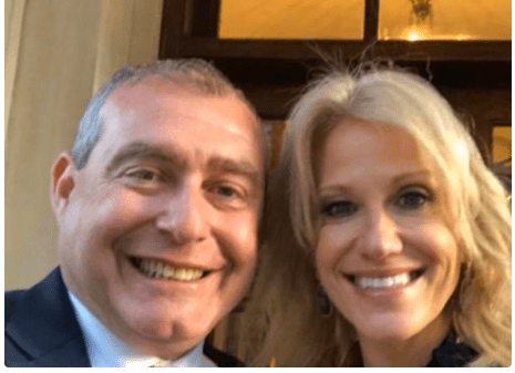 AFTER KELLYANNE CONWAY SAYS SHE DOES NOT KNOW LEV PARNAS, PHOTO OF THEM TOGETHER RESURFACES
